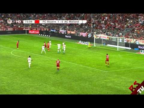 Audi Cup 2015 / FC Bayern 3:0 AC Mailand [Alle Tore/German]