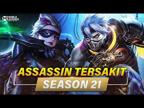 7 HERO ASSASSIN TERSAKIT SEASON 21   Mobile Legends