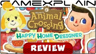 Animal Crossing: Happy Home Designer - Video Review