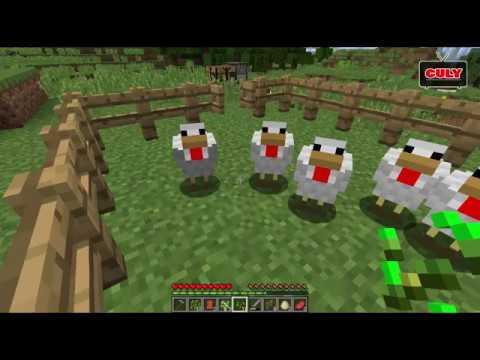 Chơi Minecraft cùng cu Tũn – Xây chuồng gà đẻ trứng