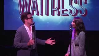 Sara Bareilles and Gavin Creel - 'Bad Idea' | Waitress London