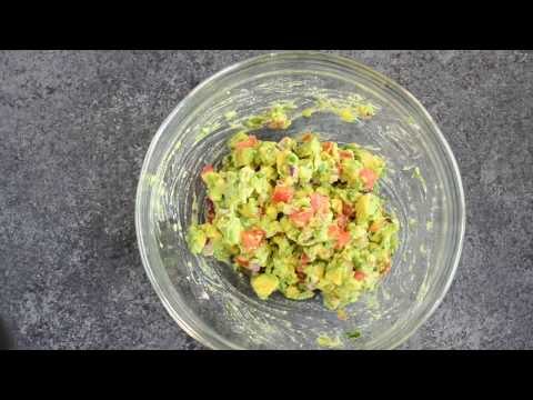5-Minute Homemade Guacamole