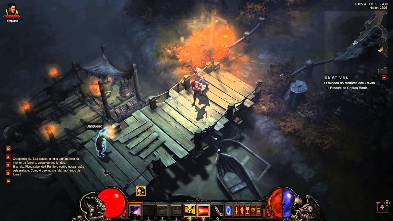 Jogos sem Placa de Vídeo - Diablo lll 1080p - A10 6800k