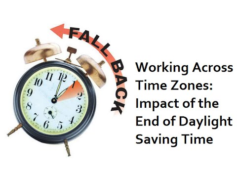 Learn About Daylight Saving Time & U.S. Time Zones