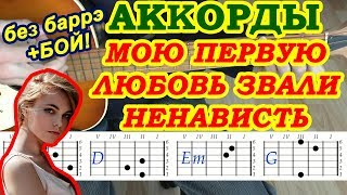 Ненависть Аккорды 🎸 Алена Швец ♫ Разбор песни на гитаре ♪ Бой Текст