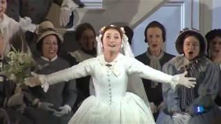 Julia Lezhneva - Entrevista - 'Don Giovanni' en el Liceu - TVE
