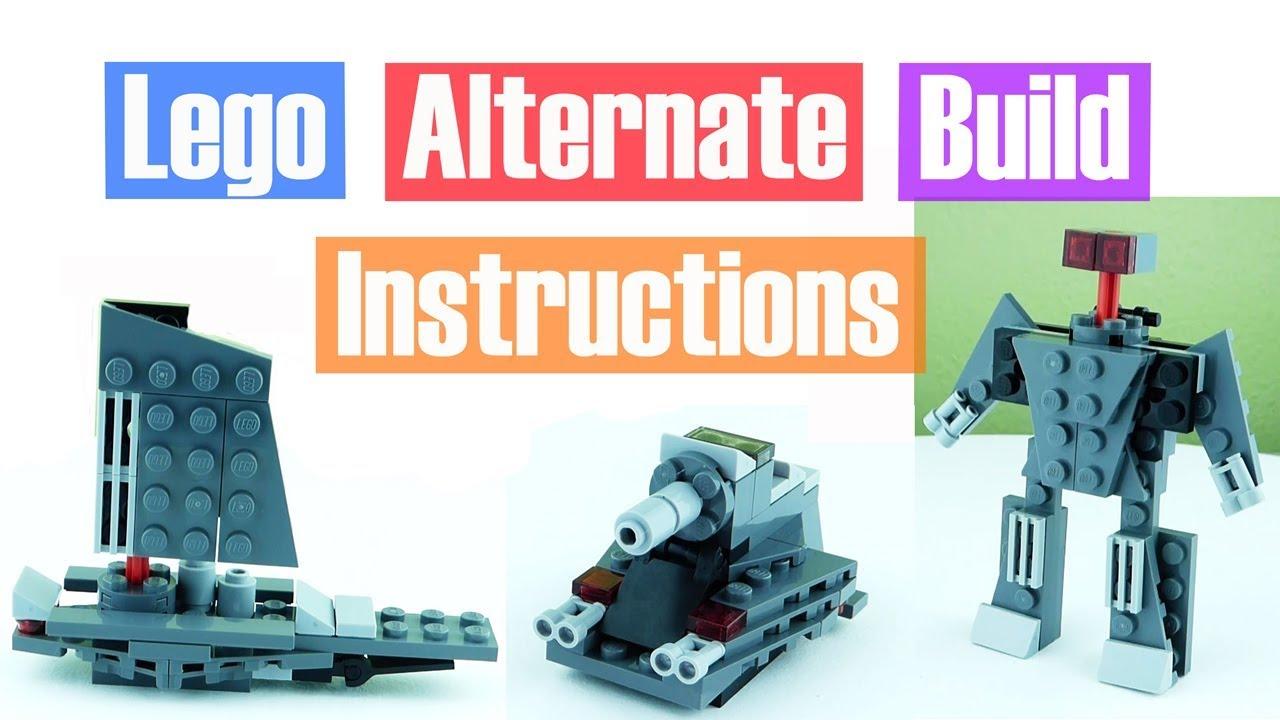 Lego Star Wars Kylo Rens Command Shuttle Polybag Alternate Build