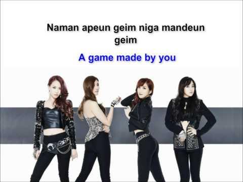 도미노 게임 (Domino Game) Rom/Eng Lyrics