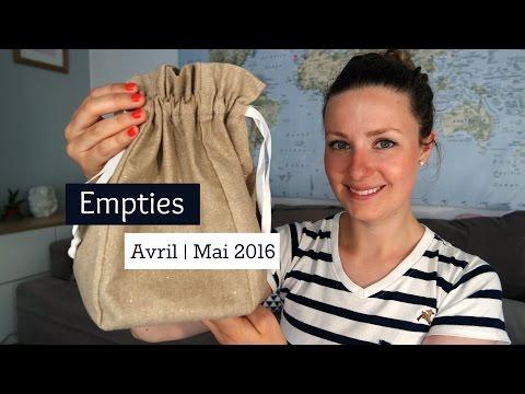 empties-#26-:-avril/mai-2016- -douce-nature,-mademoiselle-bio,-avril-beauté...