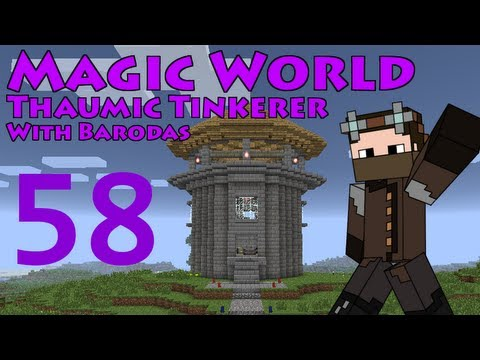 Magic World - Part 58 - Wand of the Tinkerer, and Crystals of Climate - Thaumic Tinkerer