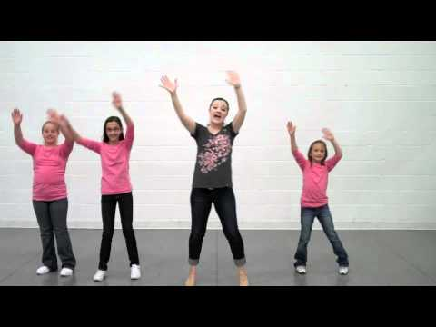 I'd Rather Be Happy - Choreography - MusicK8.com
