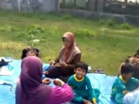 Kegiatan Ibu dan Anak PAUD Al Musri Pangandaran
