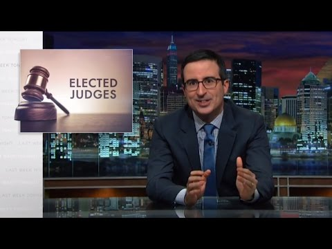 Last Week Tonight with John Oliver: Elected Judges (HBO)