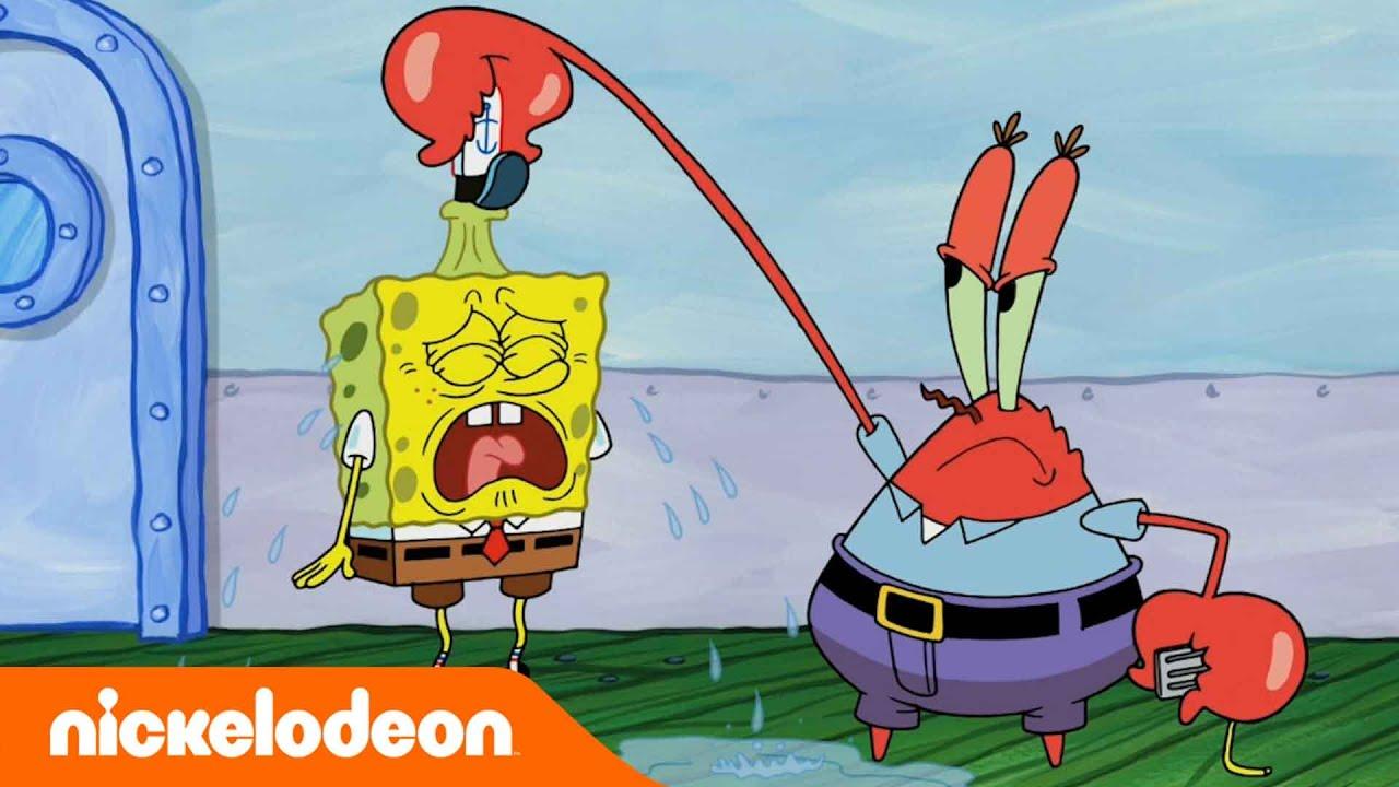 SpongeBob Kanciastoporty   SpongeBob wylatuje z pracy   Nickelodeon Polska