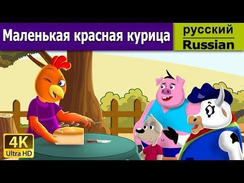 красная шапочка - Сказка - Детская сказка на ночь - Мультфильм - 4K - Russian Fairy Tales