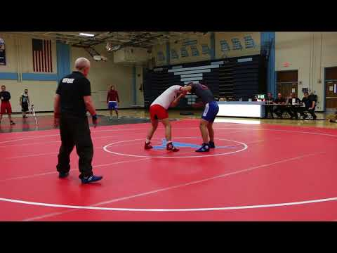 CALF SLICER! Mike Palladino Combat Wrestling Team Trials