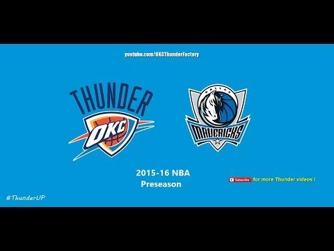 Thunder vs Mavs (10/13/2015) Full 4th Quarter Radio Broadcast