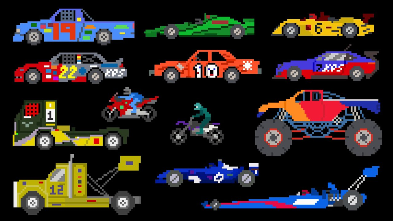 Sports Vehicles Racing Cars Trucks The Kids Picture Show
