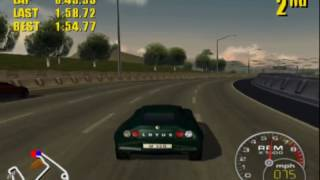 Supercar Street Challenge: Los Angeles - River (M220)