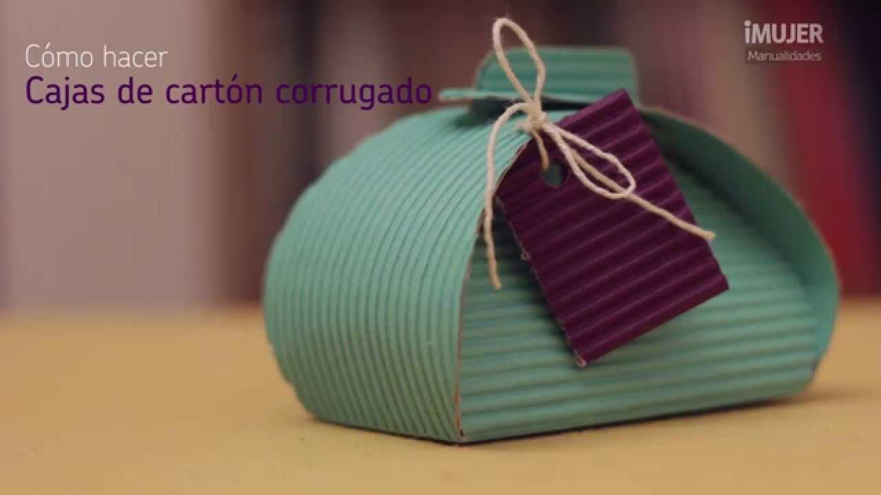 C mo hacer cajas de cart n corrugado cajas de cart n for Cajas de carton decoradas