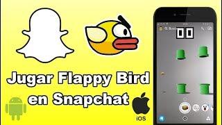 Como activar y jugar a Flapply Bird en Snapchat (Android e iOS)