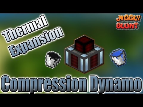 Compression Dynamo (Thermal Expansion) | Minecraft Mod Tutorial