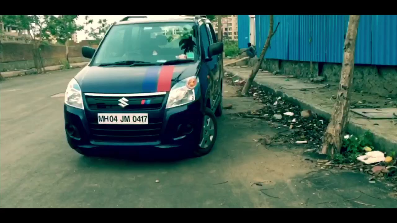 Maruti suzuki wagon r stickers works cinematic shots watch full video