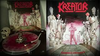KREATOR - Terrible Certainty (Vinilo, LP, Album, Reissue, Remastered, Clear Red Splatter)