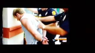 GAY Officer? Cav search Fingers Suspect no glove! | flawlesshp1