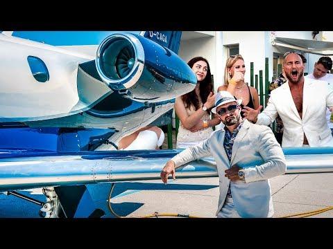 Im Privat Jet nach Ibiza! 100.000 € Party & Business Wochenende
