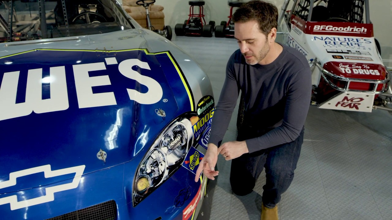 Jimmie Johnson Receives a Special Gift From Former NASCAR ...