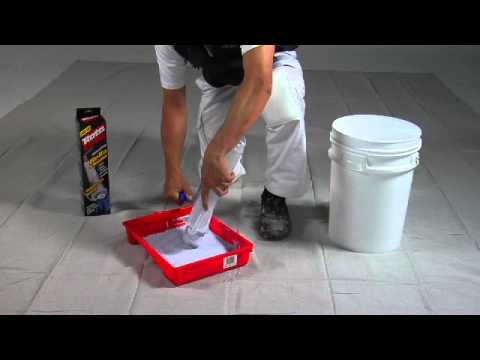 paint spot how to clean your roller cover with the rota cota rolla youtube. Black Bedroom Furniture Sets. Home Design Ideas