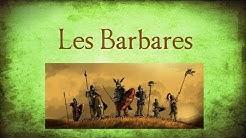 Les Barbares dans l'antiquité
