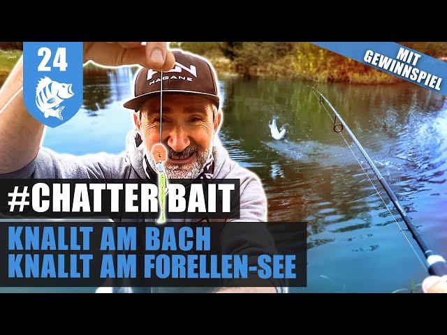 CHATTERBAIT: Der NEUE Forellen-ZERSTÖRER! (+GEWINNSPIEL)