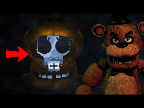 I OPENED UP FRED BEARS FACE!!! CRAZY NEW GAME!! FNAF: Final Nights at Freddy's