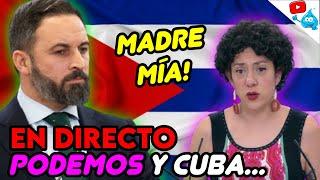 QUÉ PASA EN CUBA? VOX SE VUELCA Y PODEMOS MONTA EL SHOW😱 DIRECTO DE LOS MARTES 138
