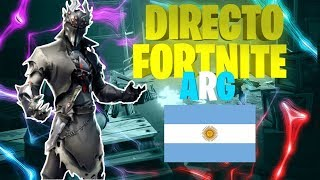 DIRECTO FORTNITE BATTLE ROYALE/PS4 ARGENTINA
