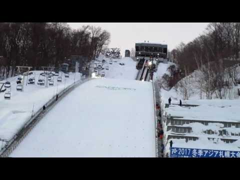 FIS Ski Jumping World Cup SAPPORO 2017.02.10  training 1st Round