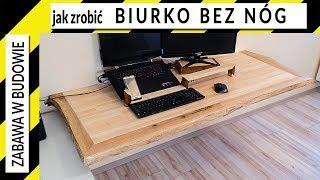 Jak zrobić biurko live edge bez nóg