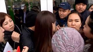 Подать документы на жилье во фронт-офис пришли сотни шымкентцев