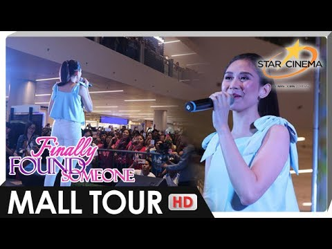 Sarah Geronimo performs 'I Just Fall In Love Again' at the 'Finally Found Someone' Mall Tour