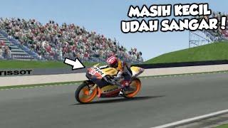 MENGEJUTKAN..!!! TERNYATA MASIH KECIL SUDAH SANGAR #MARQUEZ #SACHSENRING - MotoGP 08 INDONESIA [PS2]