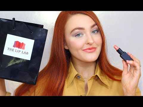 I CREATED MY OWN LIPSTICK! | Vlog & Review ~ The Lip Lab