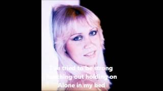 Wrap your Arms around Me - Agnetha - LYRICS