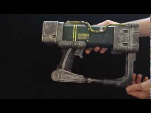 3d printable aep7 laser pistol fallout youtube