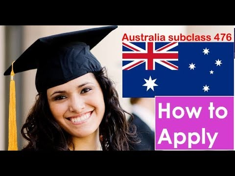 How to Apply Skilled Recognised Graduate Visa (Subclass 476) | Australia Visa