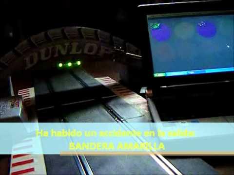 Semaforo de salida para ssd console con velleman k8055 youtube - Scalextric sport digital console ...