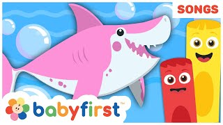 Baby Shark Song | The Color Crew Musical | Compilation of Nursery Rhymes for Babies | Baby First TV