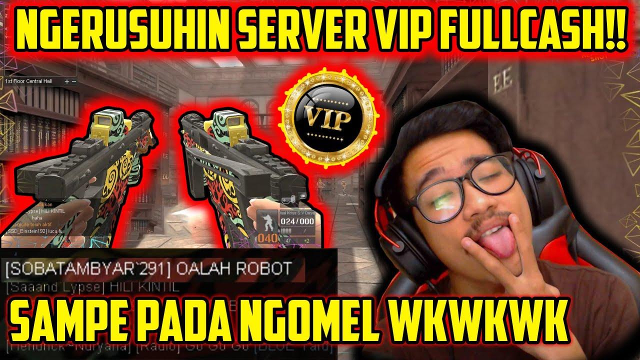 ACAK2 SERVER VIP DI BURNING HALL!! PADA NGOMEL WKWK // Gameplay Point Blank Zepetto Indonesia
