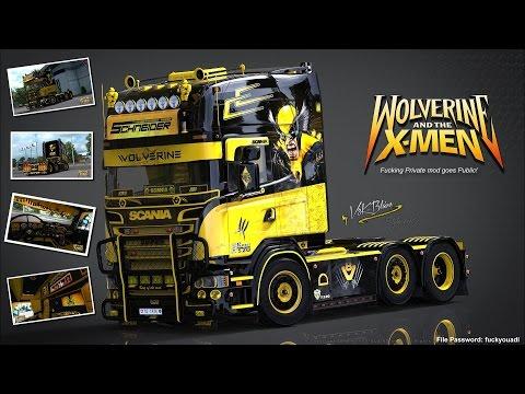 [ETS2 v1.27] Scania V8K R520 Wolverine + Cabin DLC ready